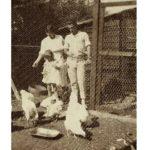 Edward Bach, Kitty y su hija Evelyn (Bobbie)