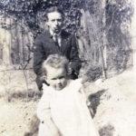 El Dr. Edward Bach y su hija Evelyn (Bobbie)